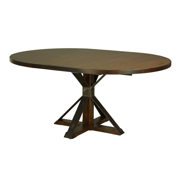 Palice Maple Extendable Solid Wood Dining Table by Gracie Oaks Gracie Oaks