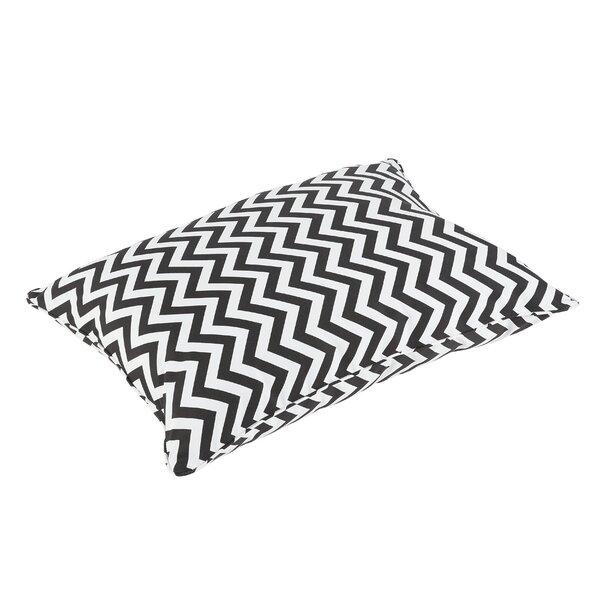 Altieri Piped Edge Indoor/Outdoor Floor Pillow by Latitude Run