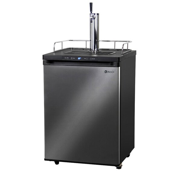 1 cu. ft. Single Tap Full Size Kegerator by Kegco