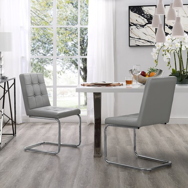Biston Upholstered Dining Chair (Set of 2) by Mercer41