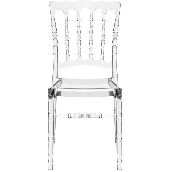 Bellflower Stacking Patio Dining Chair (Set of 2) by Mercer41 Mercer41