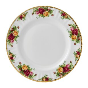 Old Country Roses 10.25\  Dinner Plate  sc 1 st  Wayfair & Rose Gold Disposable Plates | Wayfair