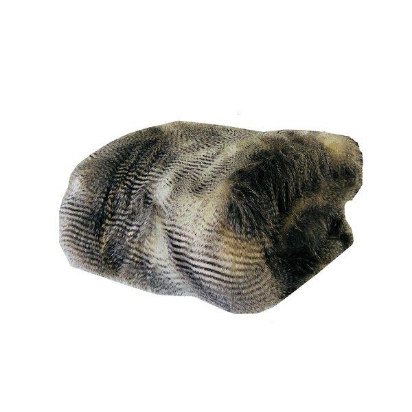 Rader Hawk Handmade Luxury Faux Fur Throw by Everly Quinn