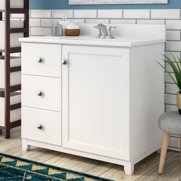 Rosalynn 1-Door 37 Single Bathroom Vanity by Ebern Designs