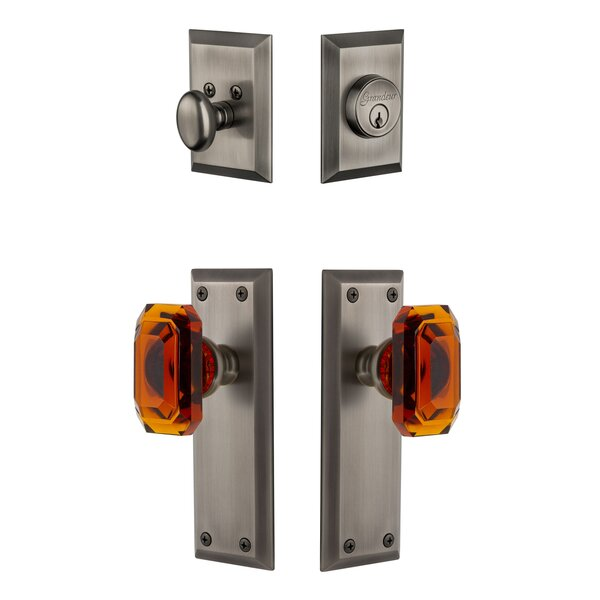 Fifth Avenue Single Cylinder Lever Combo Pack by Grandeur