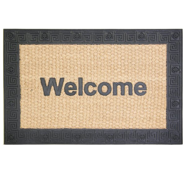 Natural Clean Hampton Greek Doormat by Bacova Guild