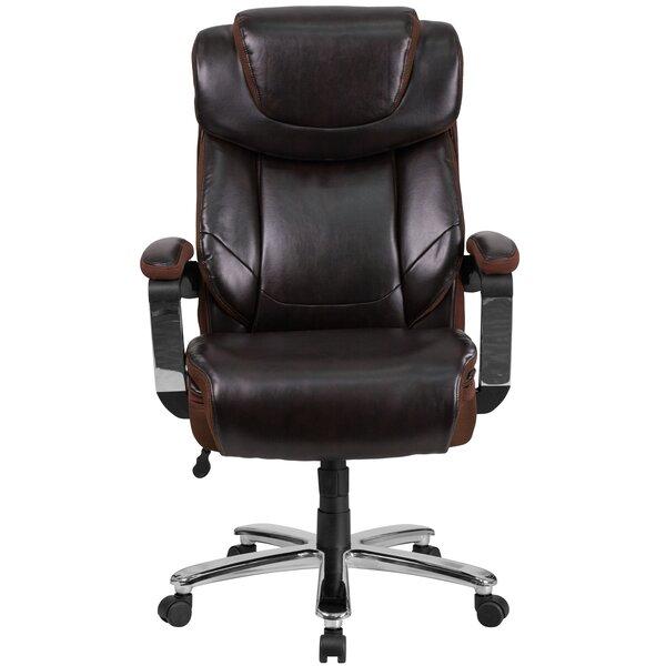 Pyron High-Back Executive Chair by Latitude Run