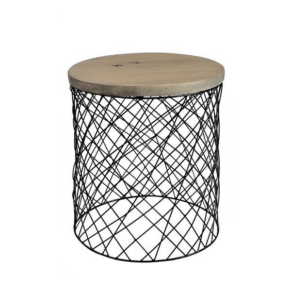 Cadence End Table by 17 Stories