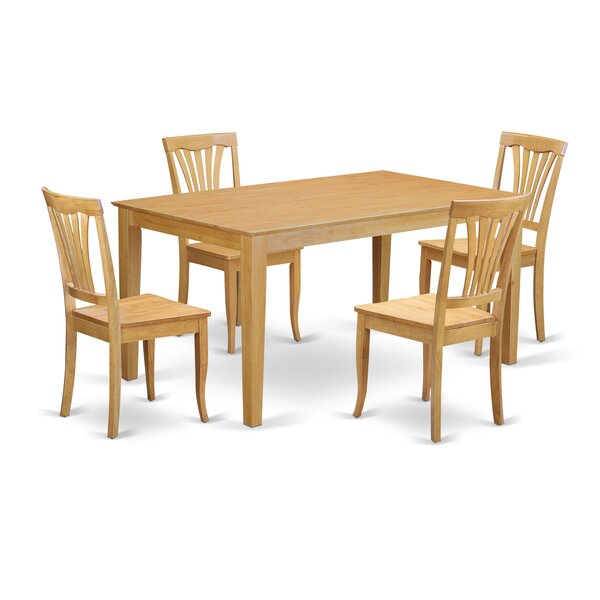 Capri 5 Piece Dining Set By Wooden Importers Wonderful