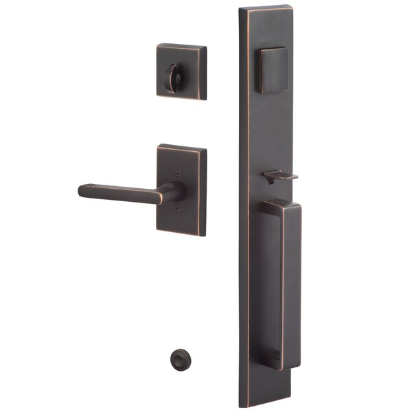Rustic Series Single Cylinder Entrance Handleset, Interior Handle Only by Sure-Loc Hardware