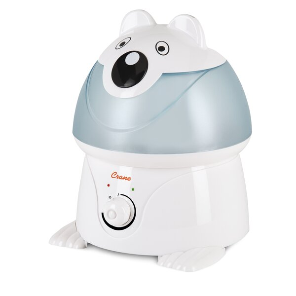 Crane USA 1 Gal. Cool Mist Ultrasonic Tabletop Humidifier by Crane USA