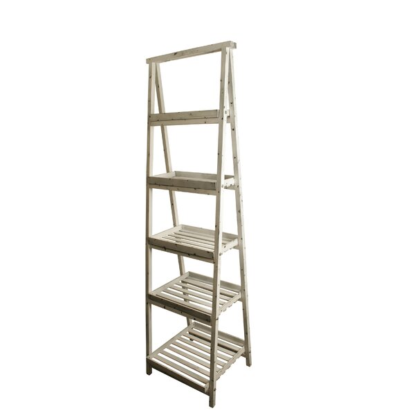 Traditional Ladder Bookcase By August Grove
