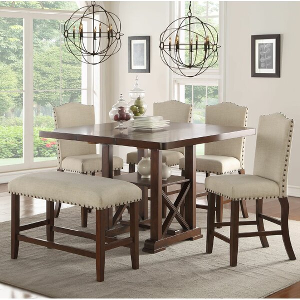 6 Piece Counter Height Dining Set by Birch Lane™