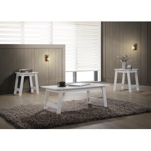 Read Reviews Halethorpe 3 Piece Coffee Table Set By Winston Porter