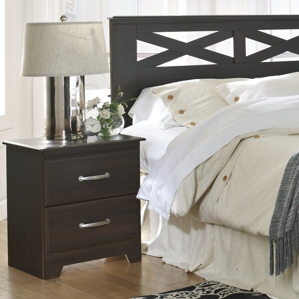 Berlin 2 Drawer Nightstand By Lang Furniture