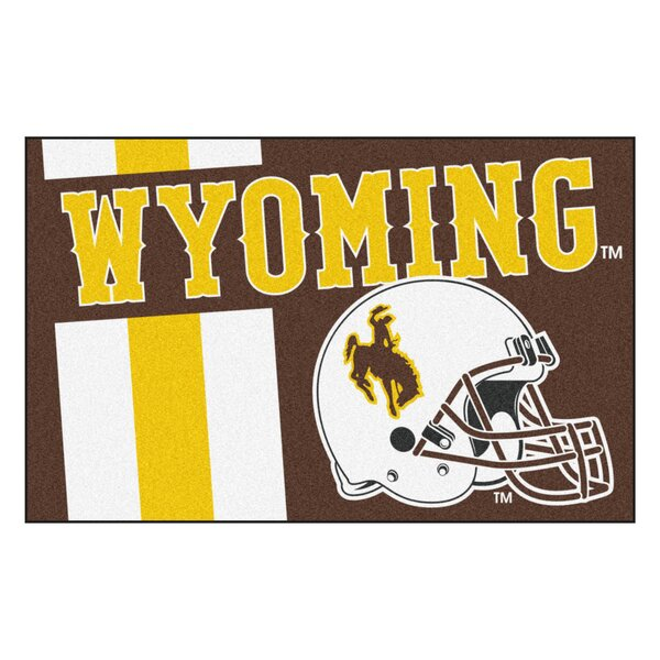 NCAA University of Wyoming Starter Doormat by FANMATS