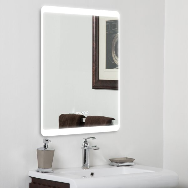 Cepheus Frameless Lighted Magnifying Vanity Mirror