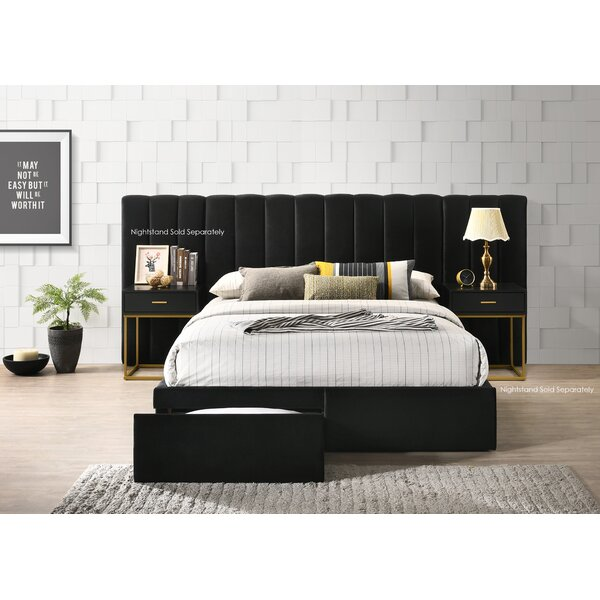 Stone Velvet Standard Configurable Bedroom Set by Alcott Hill