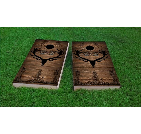 Elk Hunter Light Weight Cornhole Game Set by Custom Cornhole Boards