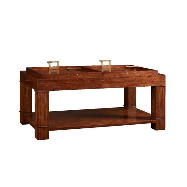 Cachet Coffee Table with Tray Top by Fine Furniture Design