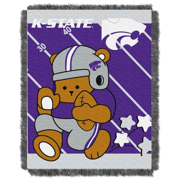 Collegiate Kansas State Baby Throw by Northwest Co.