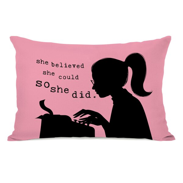 Spadaro Lumbar Pillow by Latitude Run