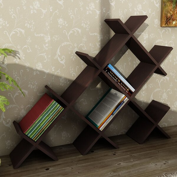 Zachary Standard Bookcase by Latitude Run