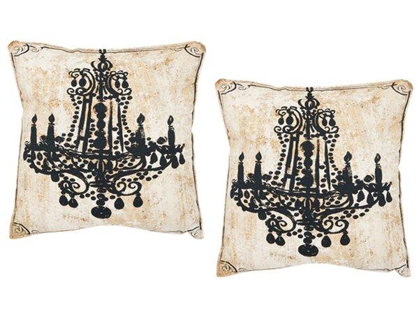 Velleron Cotton Throw Pillow (Set of 2) by Safavieh