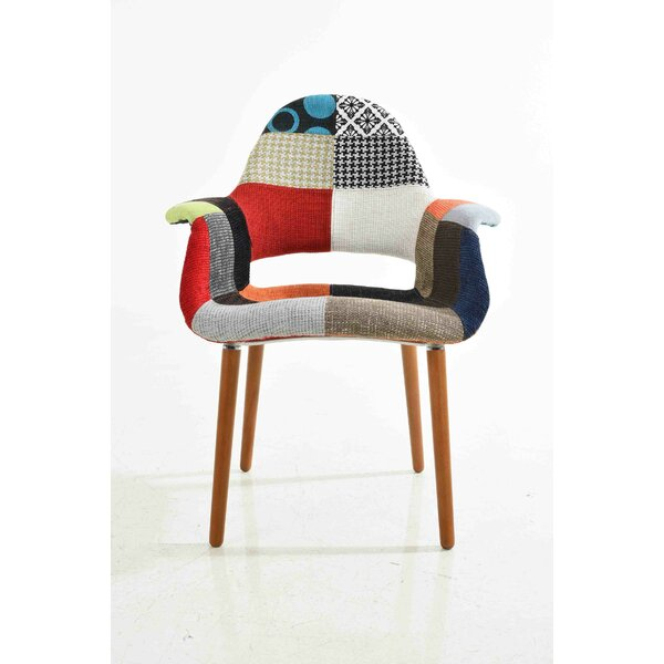 Organic Patchwork Armchair by C2A Designs
