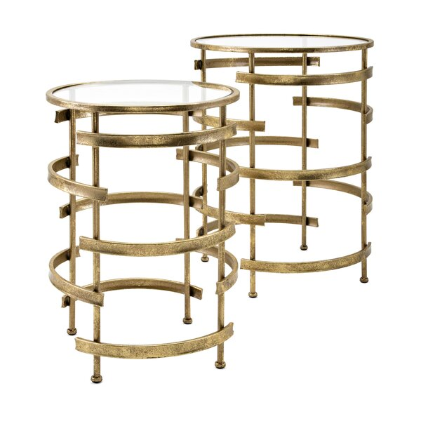 Rothman 2 Piece Nesting Tables by Mercer41