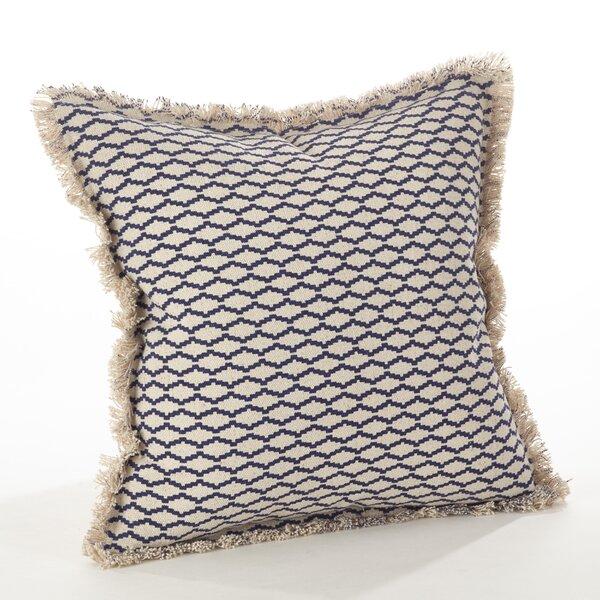 Roseanna Cotton Throw Pillow by Highland Dunes