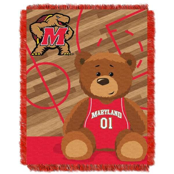 Collegiate Maryland Baby Throw by Northwest Co.
