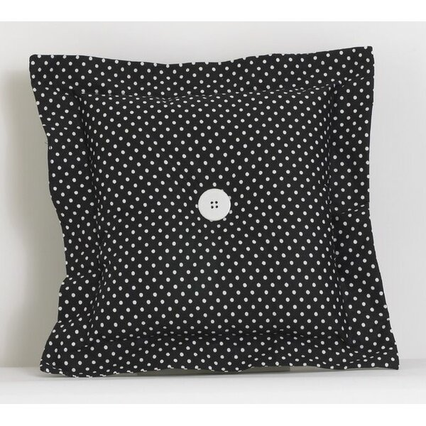 Dotted Throw Pillow by Cotton Tale