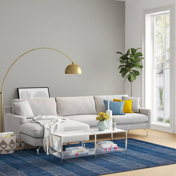 Chad Reversible Sectional By Foundstone