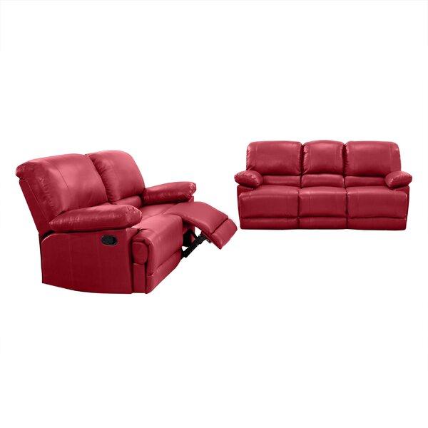 Condron Reclining 2 Piece Reclining Living Room Set by Red Barrel Studio Red Barrel Studio