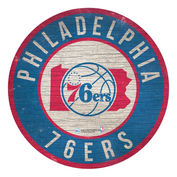 NBA Graphic Art Print on Wood by Fan Creations