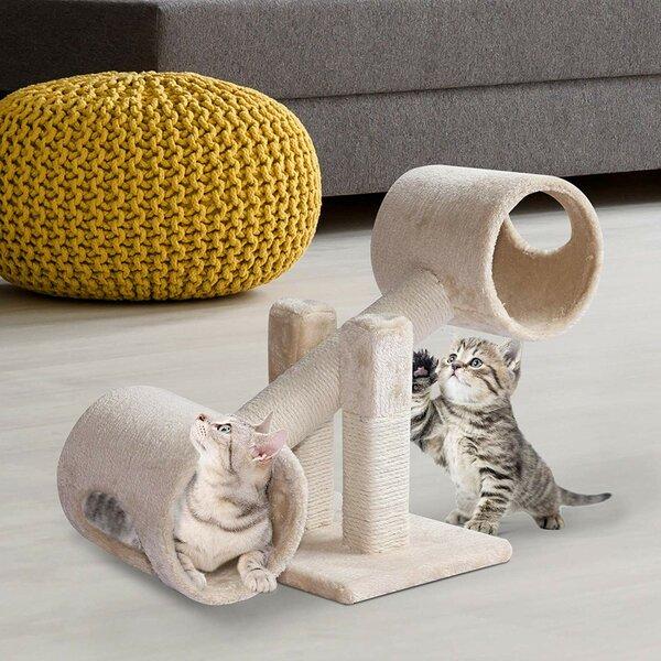 10 Caffey Tunnel Cat Tree [Tucker Murphy Pet]
