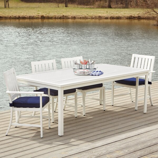 Riveria 7-Piece Dining Set with Cushions by Birch Lane™