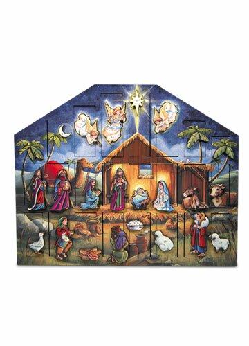 Nativity Advent Calendar by Byers' Choice