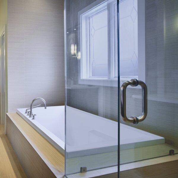 Designer Versailles 72 x 42 Whirlpool Bathtub by Hydro Systems