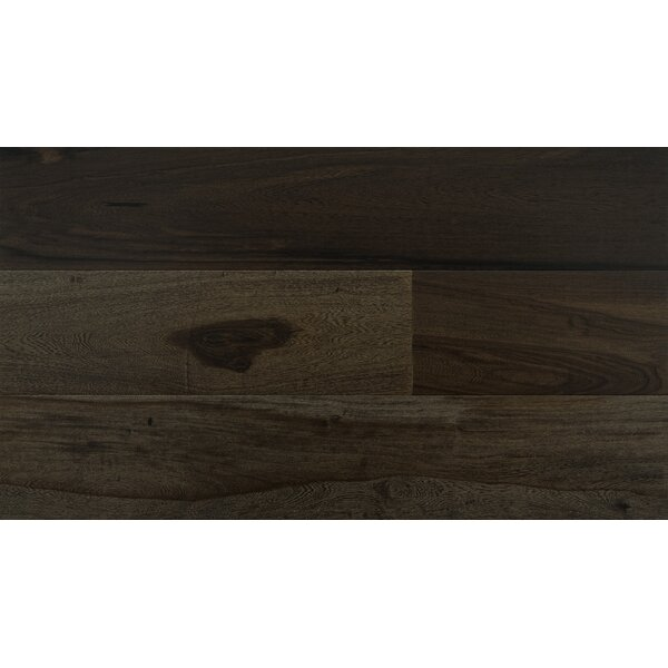 5 Engineered Pecan Hardwood Flooring in Black by IndusParquet