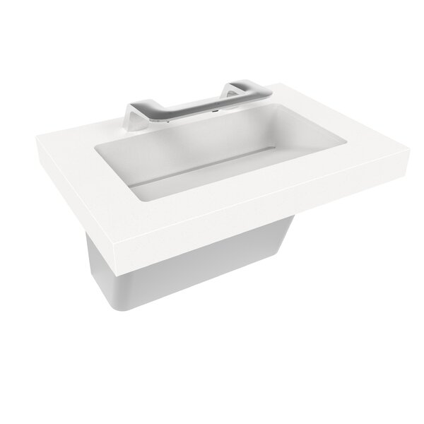 OmniDeck Rectangular Undermount Bathroom Sink with Faucet