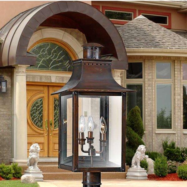 Winfrey Outdoor Wall Lantern by Three Posts