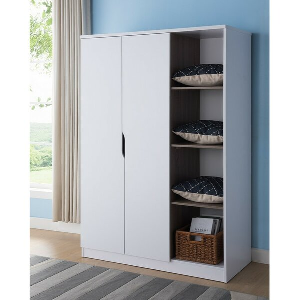 Dewitt Wardrobe Armoire By Rebrilliant by Rebrilliant Best