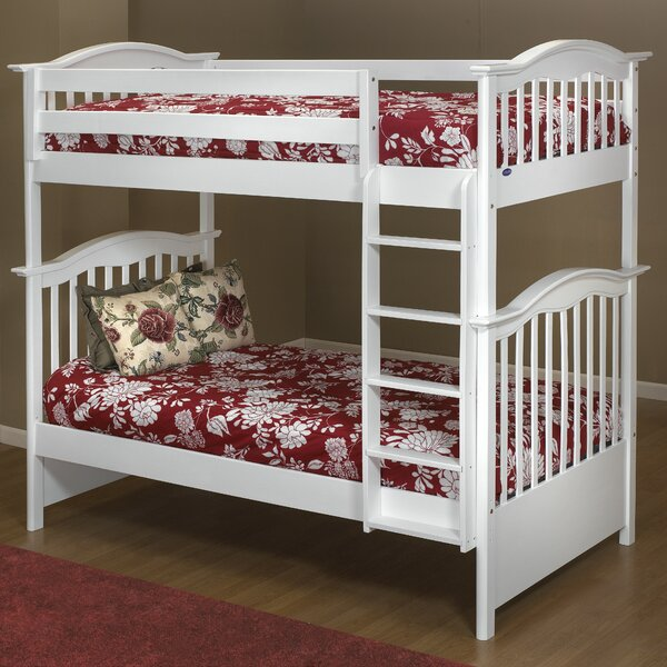 Curved Twin over Twin Bunk Bed by Orbelle Trading