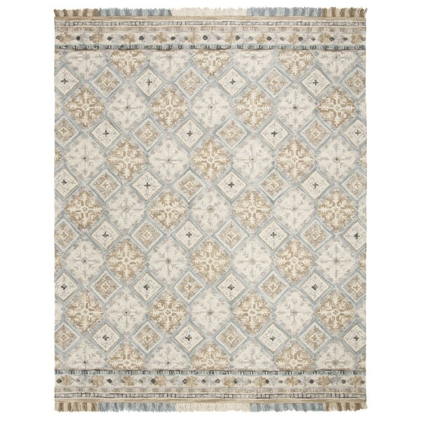 Bradwood Hand-Tufted Beige Area Rug by Charlton Home