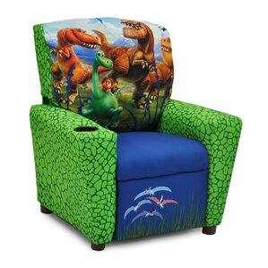 Disneyu0027s the Good Dinosaur Kids Recliner with Cup Holder  sc 1 st  Wayfair : little kid recliners - islam-shia.org