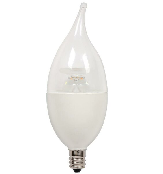 7W Candelabra Base C13 LED Light Bulb by Westinghouse Lighting
