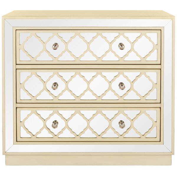 Agathon 3 Drawer Accent Chest by Rosdorf Park Rosdorf Park
