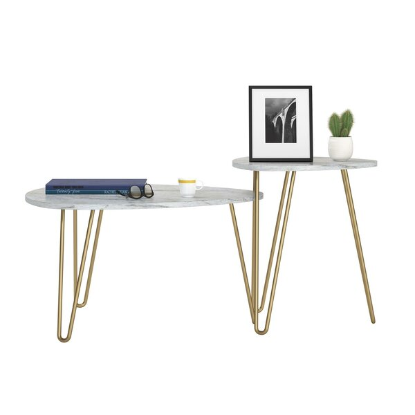 Athena 2 Piece Nesting Tables By Novogratz